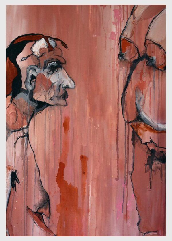 Lisa Klok - Hans & Inge - Kunsttryk