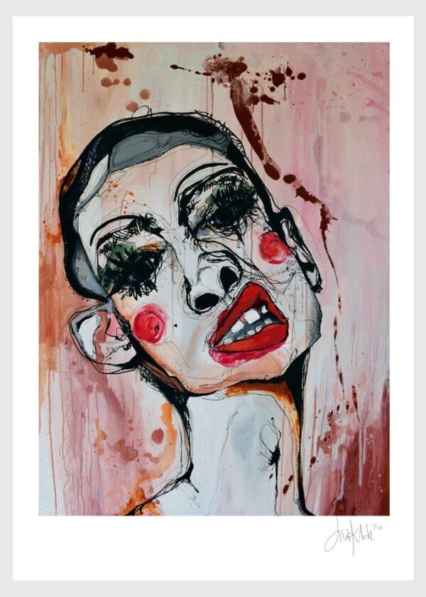 Lisa Klok - Henry - Kunsttryk