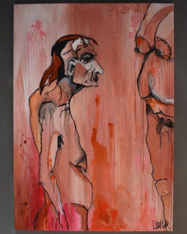 Lisa Klok - Hans & Inge - Original maleri