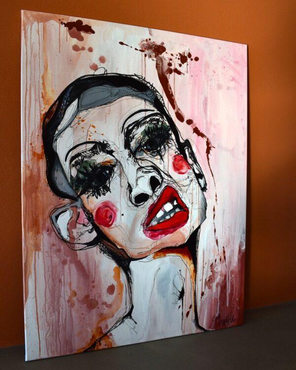 Lisa Klok - Henry - Original maleri