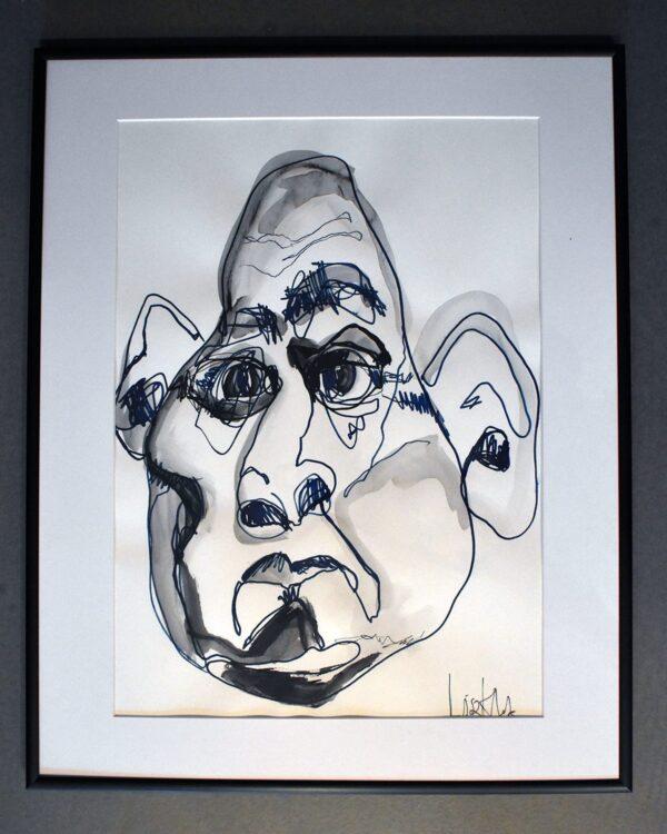 Lisa Klok - Frans den frodige - Original tegning