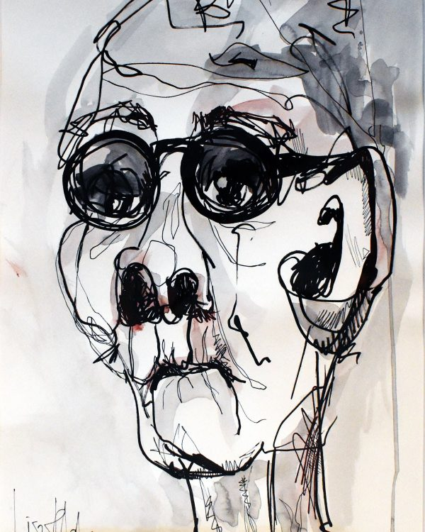 Lisa Klok - Nanny - Original tegning