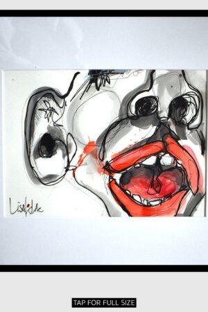 Lisa Klok - Oda - Original tegning