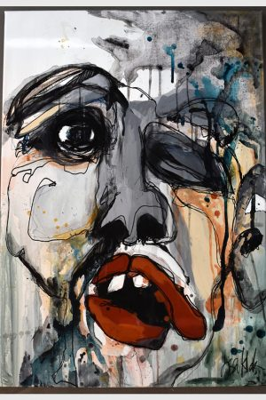 Lisa Klok - Alf - Originalt maleri