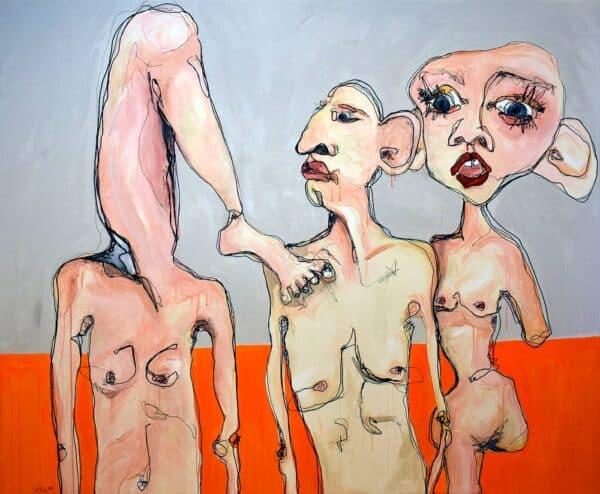 Lisa Klok - Årgang 1987, UA - Originalt maleri