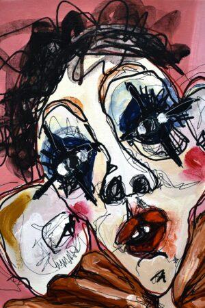 Lisa Klok - Betsy - Originalt maleri