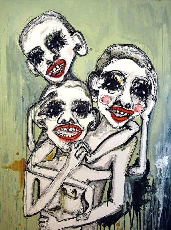 Lisa Klok - Brothers of Sisterhood - Originalt maleri
