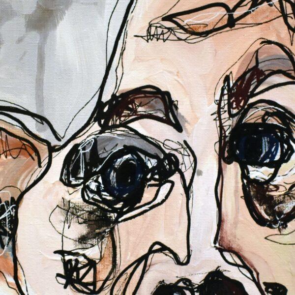 Lisa Klok - Viggo - Originalt maleri