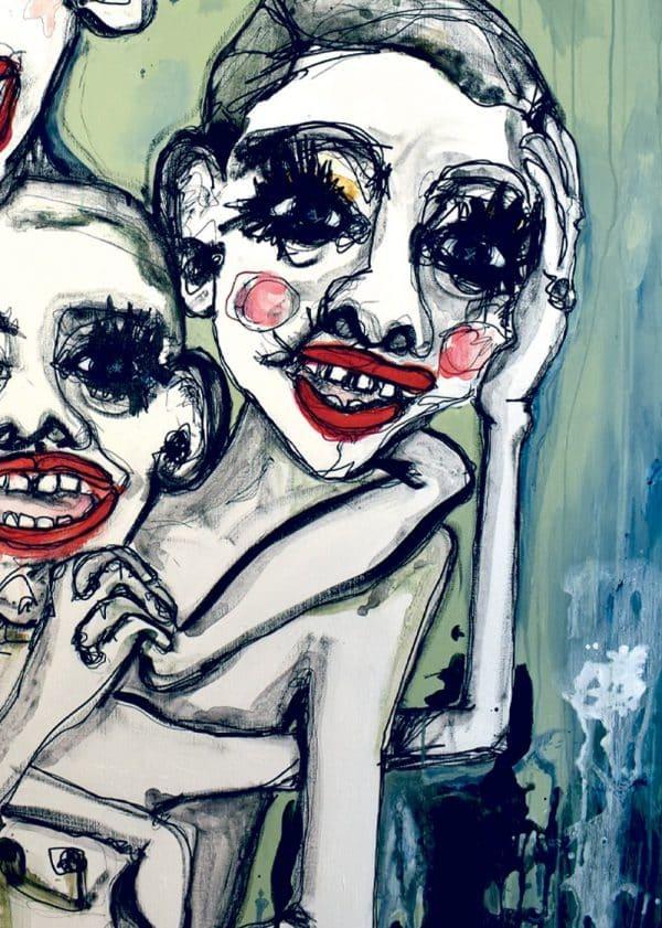 Lisa Klok - Brothers of Sisterhood - Kunsttryk