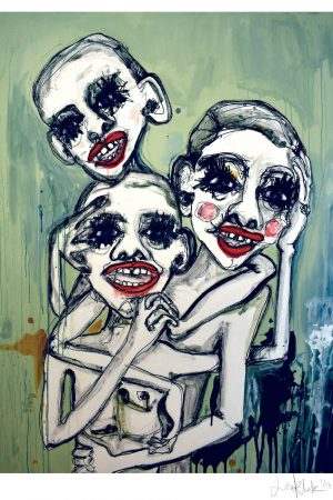 Lisa Klok - Brothers of Sisterhood - Kunsttryk