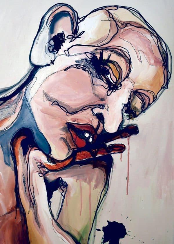 Lisa Klok - Eddie - Kunsttryk