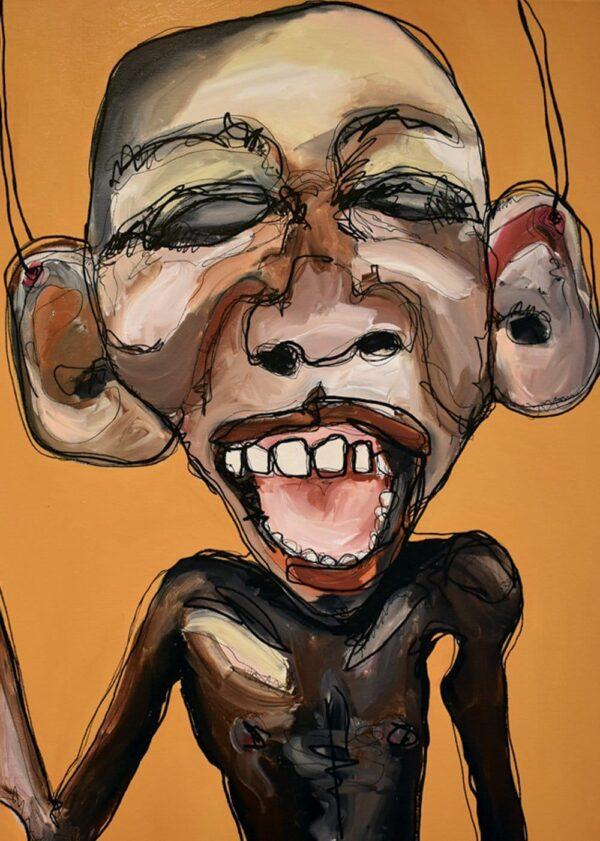 Lisa Klok - Marionet-John - Kunsttryk