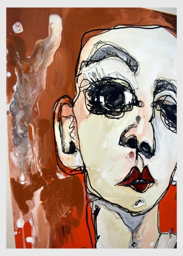 Lisa Klok - Acting Bruno - Originalt maleri
