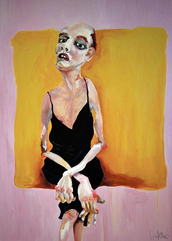 Lisa Klok - Bernie - Kunsttryk