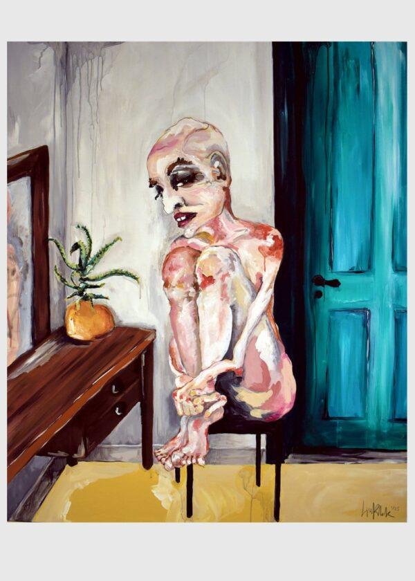 Lisa Klok - Luke - Kunsttryk