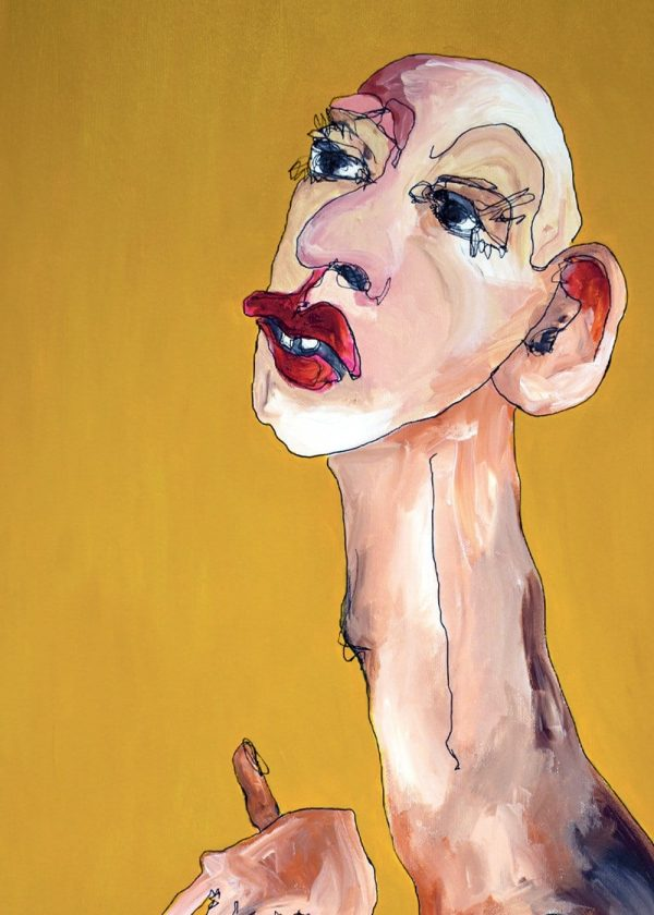Lisa Klok - Daisy - Kunsttryk
