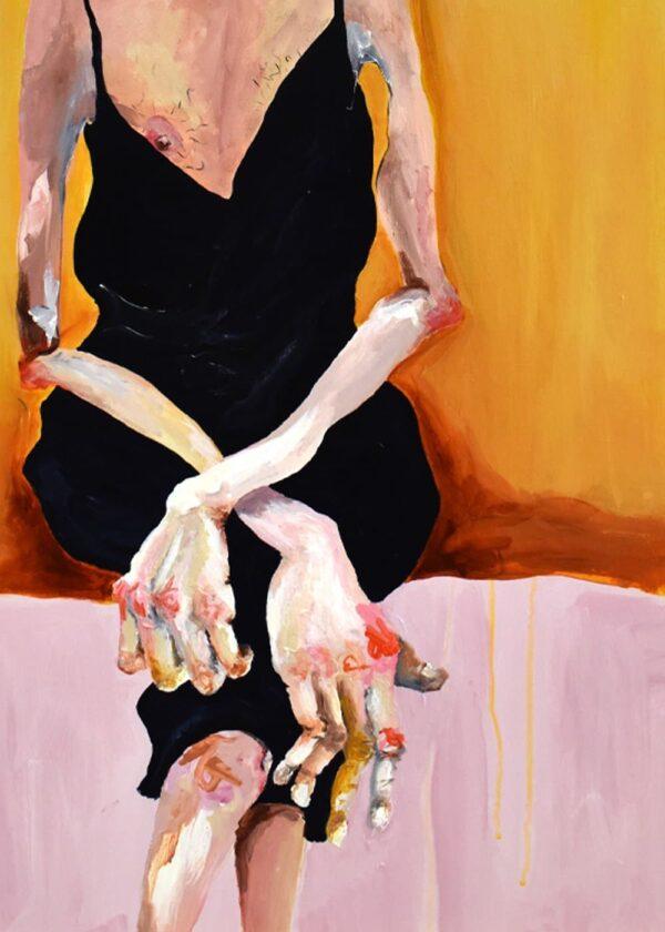 Lisa Klok - Bernie - Originalt maleri