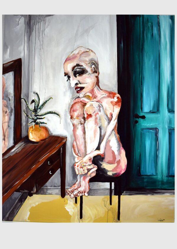 Lisa Klok - Luke - Originalt maleri