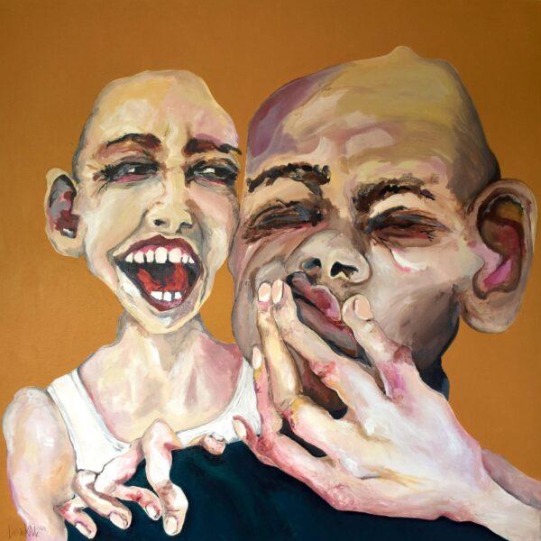 Lisa Klok - Helge & Vermont - Kunsttryk