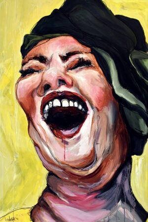 Lisa Klok - Karen - Kunsttryk