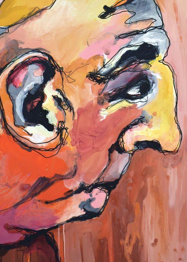 Lisa Klok - Vagn - Kunsttryk