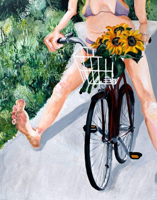 Lisa Klok - Valborg - Kunsttryk
