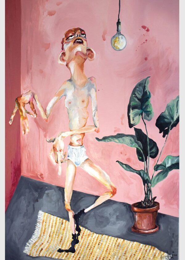 Lisa Klok - Originale værker - Rolf, Home alone