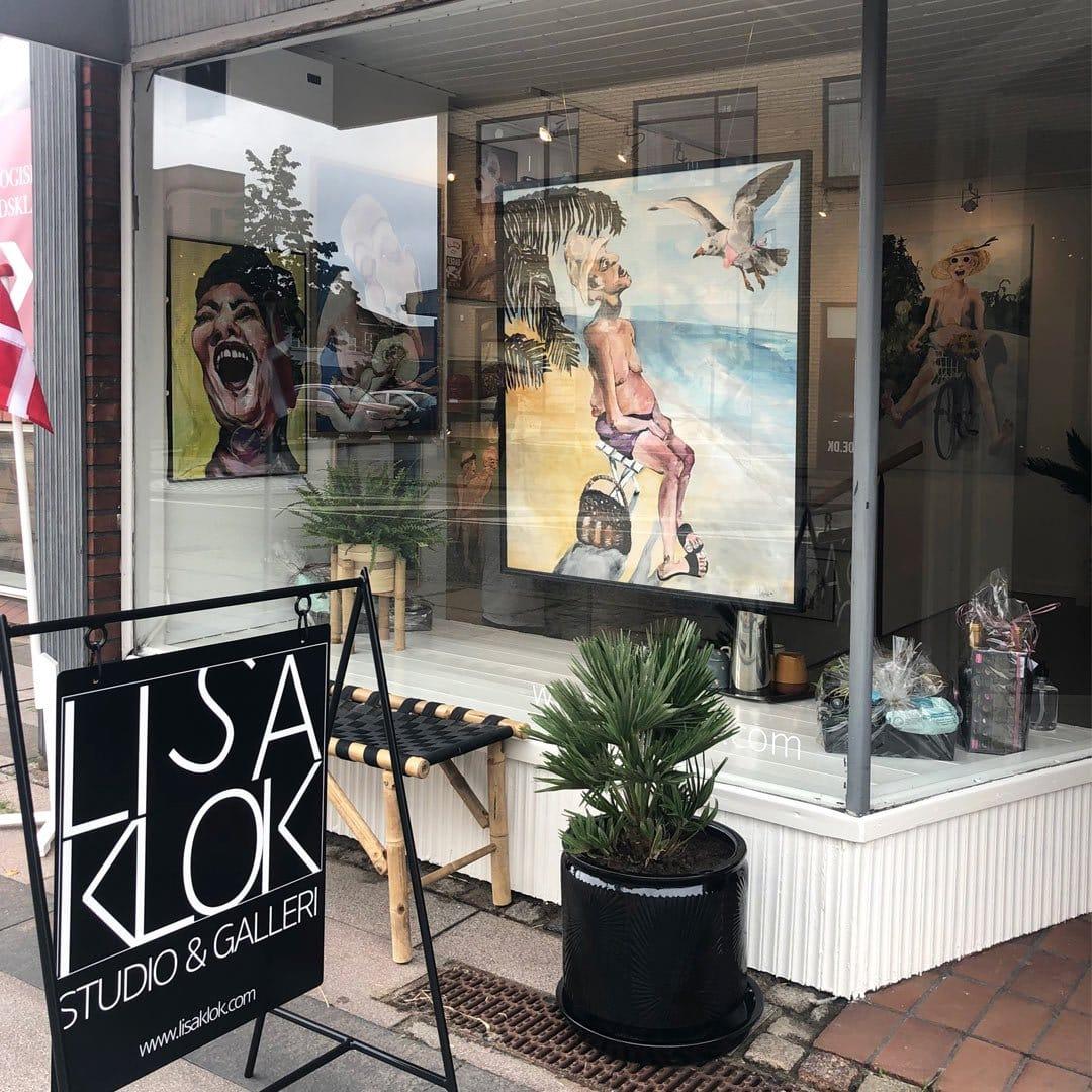 Lisa Klok - Studio og Galleri Rønde, Århus