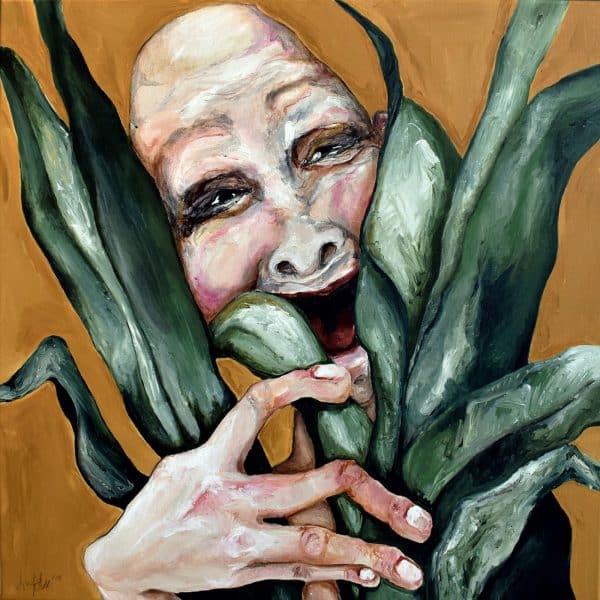 Lisa Klok - BERT, THE FLORIST - Kunsttryk