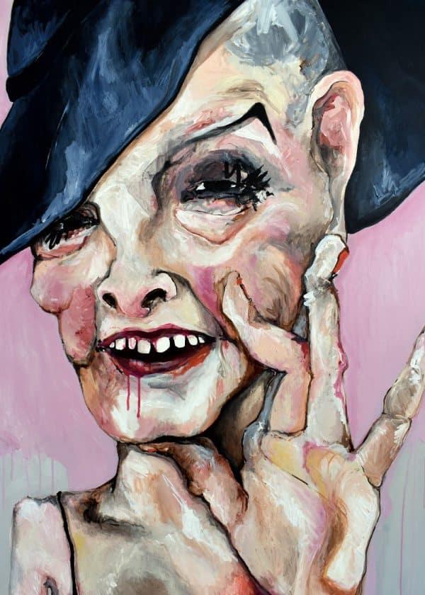 Lisa Klok - Madam - Kunsttryk