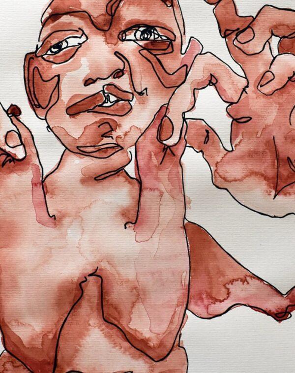 Lisa Klok - Lapperne - Kunsttryk