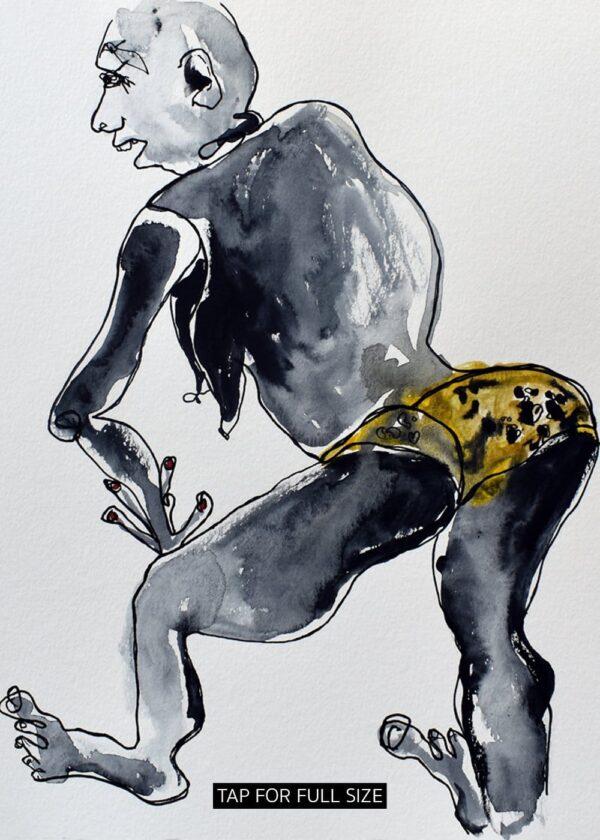 Lisa Klok - Randi - Kunsttryk